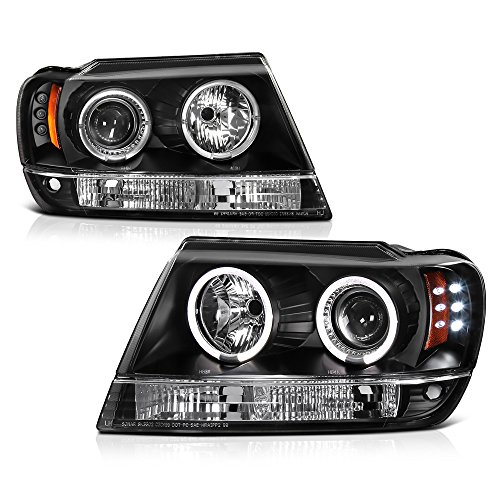 04 jeep grand cherokee headlights - 5