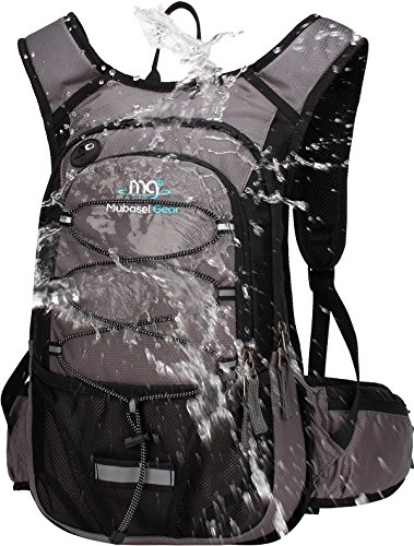 Mubasel Gear Insulated Hydration Backpack Pack with 2L BPA Free Bladder - Keeps Liquid Cool up to 4 Hours