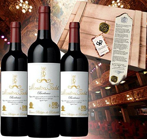 3er Wein Geschenkset Baron Philippe de Rothschild