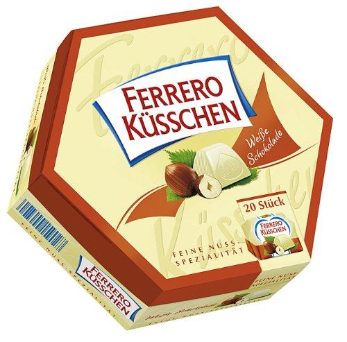 Ferrero Küsschen Weiße Schokolade, 4er Pack (4 x 178 g)