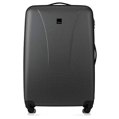 Tripp Anthracite Lite 4W Large 4 Wheel Suitcase