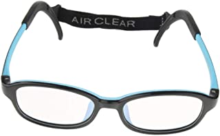 Lovoski Kid Classic Rectangle Glasses Frame Without Lenses For Girls Boys With Strap