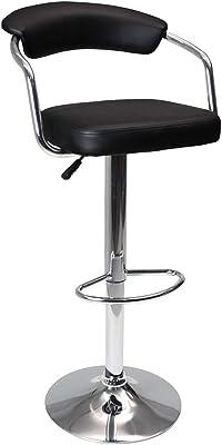 acciaio e acciaio colore: marrone Set di 2 sgabelli da bar Toledo 57 x 42 x 53 cm in plastica Kangaro K-2BD-438-BR