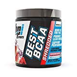 BPI Sports Best BCAA Shredded Caffeine-Free Thermogenic Recovery Formula BCAA Powder Lean Muscle...