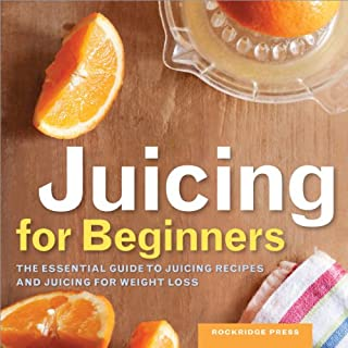 Juicing for Beginners audiobook cover art