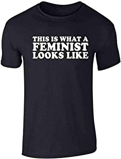 This is What A Feminist Looks Like Political Graphic Tee T-Shirt for Men