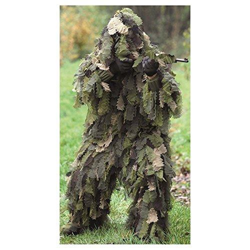 Mil-Tec Ghillie Suit Oak Leaf 3D Woodland Größe 2