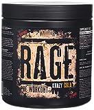 Warrior Supplements RAGE Pre Workout Supplement Powder 392g - High Caffeine Energy