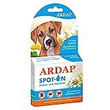 ARDAP Spot On - Zecken & Flohschutz für Hunde von 10 bis 25kg - Natürlicher Wirkstoff - Bis zu 12 Wochen nachhaltiger Langzeitschutz