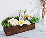 Artmag Bathroom Decor Box Wooden Funny Signs Farmhouse Toilet Paper Holder Perfect for Bathroom Decor, Toilet Paper Storage, Rustic Bathroom Decor (Brown)