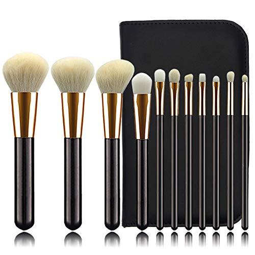 Pinceaux de maquillage femmes Pinceaux de maquillage Set 11 PCS Poudre Fond de teint Pinceau Concealer Ombre À Paupières Eyeliner Pinceau Sourcils Doux