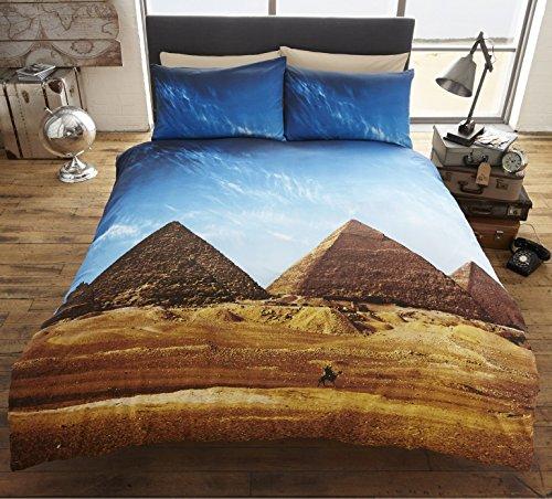 La parure de lit pyramides de Gizeh