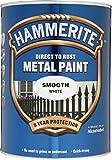Paint Hammerite metal liso 5L Blanca