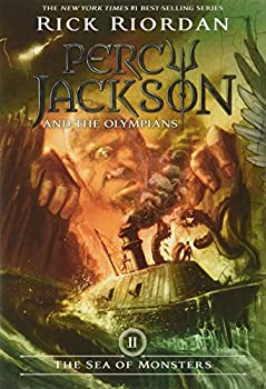 Paperback The Sea of Monsters (Percy Jackson and the Olympians, Book 2) Book