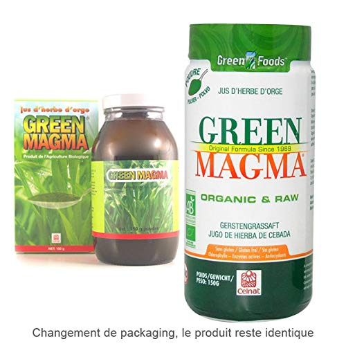 CELNAT - Green Magma Jus D'Herbe D'Orge En Poudre 150G - L'unité