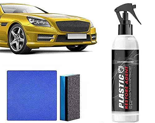 100ml/250ml Car Cleaner Foam Cleaner Versatile Wash Multifunctional Universal, Multipurpose Foam Cleaner Spray, Auto & Leather Renovated Coating Paste Maintenance Agent, Interior Fabric Cleaning