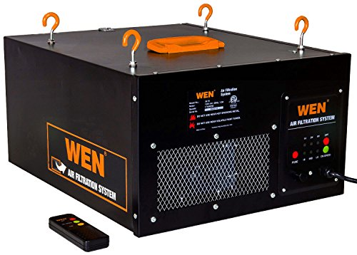 WEN 3410 3-Speed Remote-Controlled Air Filtration System (300/350/400 CFM) $107