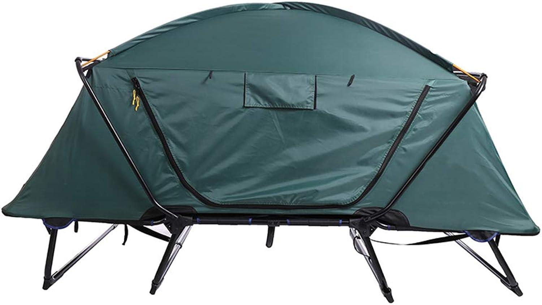 Zgu Mehrzweckzelt, Campingzelt im Freien, Campingzeltbett über dem Boden, geeignet für Camping im Freien, Angeln usw,b