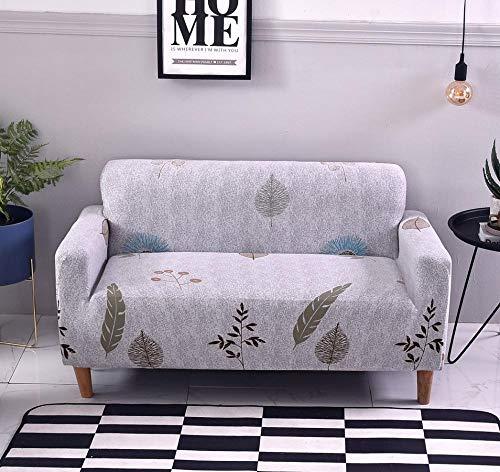 INFANDW Schonbezug Sofahusse, Stretch-Stoff, Couch-Bezug, Sofa-Möbelschutz, kompletter Bezug maschinenwaschbar(Weiß, 1 Sitzer: 90-140cm)