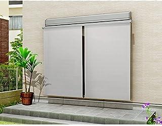 LIXIL スタイルシェード 外付けスクリーン 壁付(木造) 雨戸サッシ 半外付型/外付型用 固定フック付き サイズ呼称:25628 【H3030mm】 (W2730mm×H3030mm)