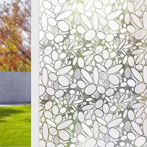 LMKJ Película de privacidad de Ventana, Etiqueta de Ventana de Vidrio de Vinilo de Ventana Decorativa 3D, Etiqueta de Vidrio de Ventana de casa