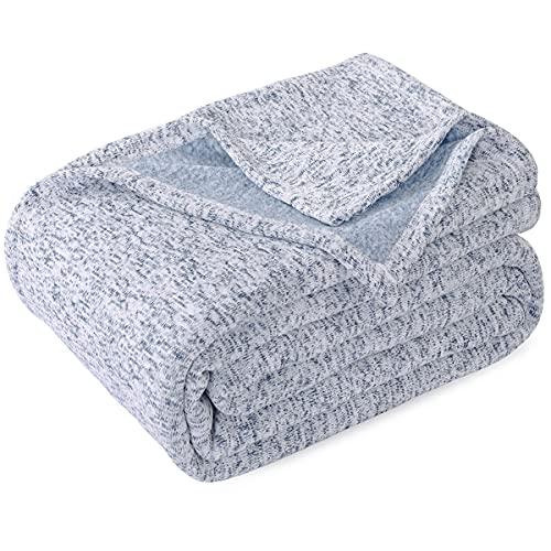 KAWAHOME Summer Knit Blanket Lightweight Soft...