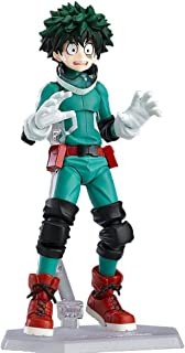 Bowinr My Hero Academia Figma Action Figure, Izuku Midoriya Todoroki Shoto Katsuki Bakugou Vinyl Figure Collectible PVC Figure for Kids Teens and Anime-Fans(Izuku Midoriya)