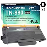 (1-Pack) Compatible TN880 Toner Cartridge TN-880 Used for Brother MFC-L6700DW MFC-L6800DW HL-L6200DW L5000D L5100DN L5200DW L5200DWT L6200DW L6200DWT L6250DW Printer, Sold by MuchMore