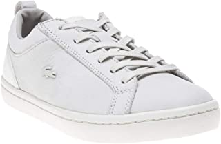 6d8222e4f Lacoste Straightset 318 1 Womens Off White Sneakers