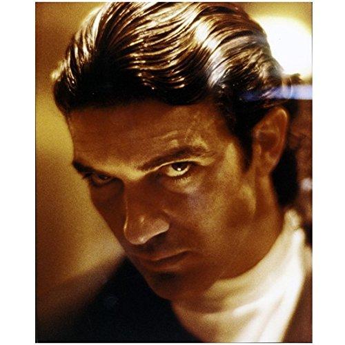 Antonio Banderas 8 x 10 Photo Headshot White Turtleneck Hair Slicked Back kn