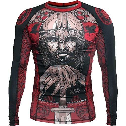 Rashguard Hardcore Training Viking 3.0-m T-Shirt de compression MMA BJJ UFC