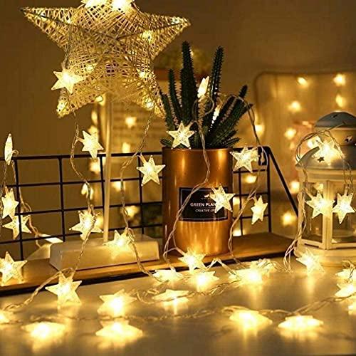 Luces de Hada Estrella, 10M 100 LED Luces de hada 8 modos...