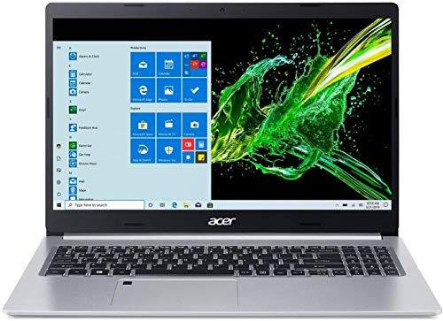Acer Aspire 5 15.6' FHD IPS Laptop Computer 10th Gen Intel Core i5-1035G1 Processor (Up to 3.6GHz) 16GB RAM 512GB SSD WiFi 6, HD Webcam, Fingerprint Reader, Backlit Keyboard, Windows 10 Pro