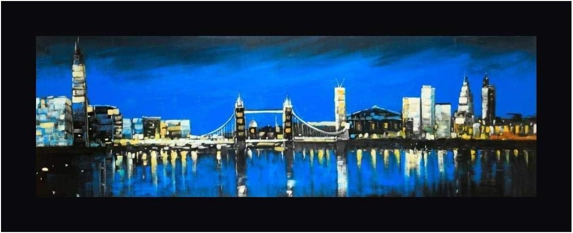 cheap Skyline of London by Atelier B Art - Super Special SALE held Frame Studio Black 9