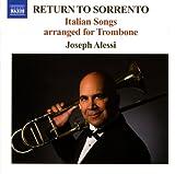 Return To Sorrento - Italian Songs Arranged for Trombone