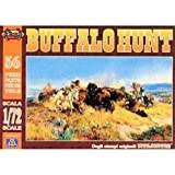 Italeri Buffalo Hunt Modellino, Scala 1:72, , Multicolore, ATL017