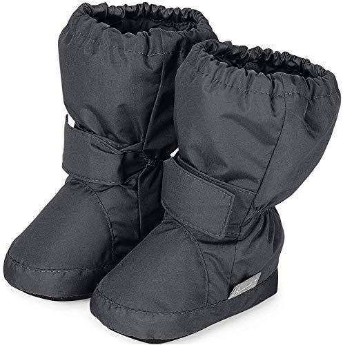 Sterntaler Jungen Baby Stiefel mit Klettverschluss, Farbe: Eisengrau, Größe: 23/24, Alter: 2-3 Jahre, Artikel-Nr.: 5101510