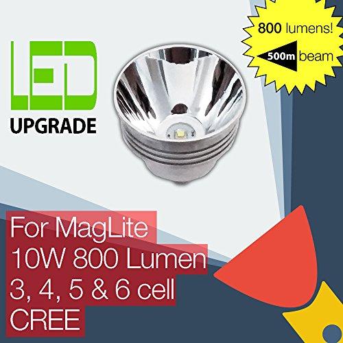 MagLite LED Upgrade Ersatz lampe 800LM Hohe Leistung Taschenlampen 3D 4D 5D 6D zellen CREE