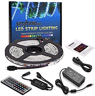 Tiras Led RGB 5 Metros 300 Leds 5050 SMD Tira LED de Luces LED Kit Completo