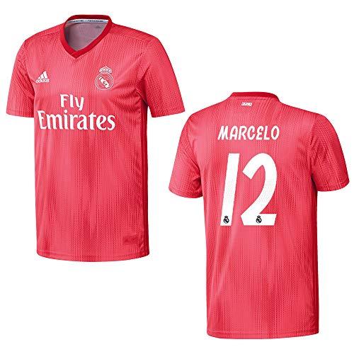 adidas REAL Madrid Trikot 3rd Herren 2019 - Marcelo 12, Größe:L