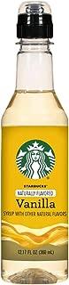 Starbucks Caramel Syrup 12.17fl oz, pack of 1 (Various Flavors) (Vanilla)