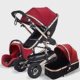 Cynebaby - Passeggino per neonato, passeggino e carrozzina, passeggino per tutti i terreni, Vista City Select Passeggino, multifunzione, leggero, pieghevole