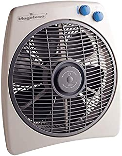 Ventilador de Suelo 45W, Muy Silencioso, Temporizador, 6 aspas, Aire Oscilante, Diametro 30cm, con Niveles de Potencia,