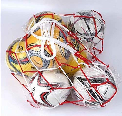 Gaocheng Netztasche Lange und Dicke Seiltasche Fußballtasche Balltasche Ballnetztasche Basketballtasche Large