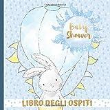 Libro Degli Ospiti: Crea Bellissimi Ricordi con Questo Bellissimo Libro Degli Ospiti Blu per Baby...