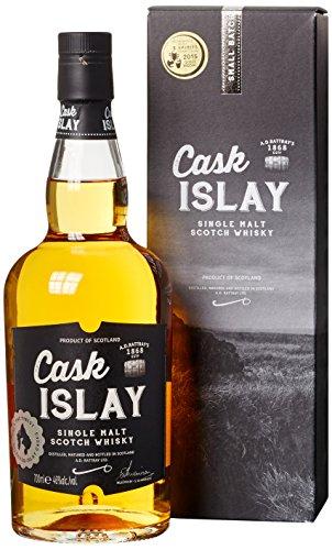 Cask Islay A.D. Rattray Single Malt Scotch mit Geschenkverpackung Whisky (1 x 0.7 l)