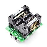 allsocket sop16-7.5-1.27mm adapter sop16 pacchetto soic16 so16 sop16 a dip16 programmatore adattatore presa 1.27mm passo 7.5mm larghezza(300mil)sop16(28)-1.27 ots16(28)-1.27–04