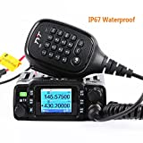 TYT TH-8600 Dual Band Mini Mobile Transceiver IP67 Waterproof Car Radio 2M/70CM 25W Amateur Two Way Radio w/Cable