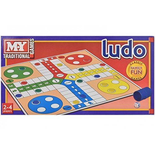 New Traditional Ludo Board Game Kid Children Adult Family Fun Play Game Family