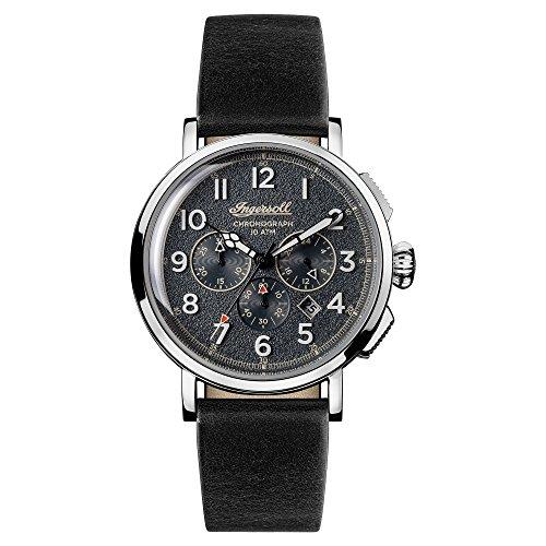 Ingersoll Orologio Cronografo Quarzo Uomo con Cinturino in Pelle I01701